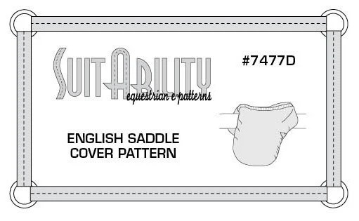 PDF English Saddle Cover Pattern from SuitAbilityEpatterns