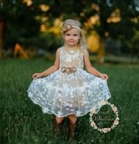 Girls dress lace flower girl dress girls dress girls lace