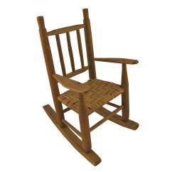 1920s Rocking Chair Desk Good For Back Vintage Wooden Dolls