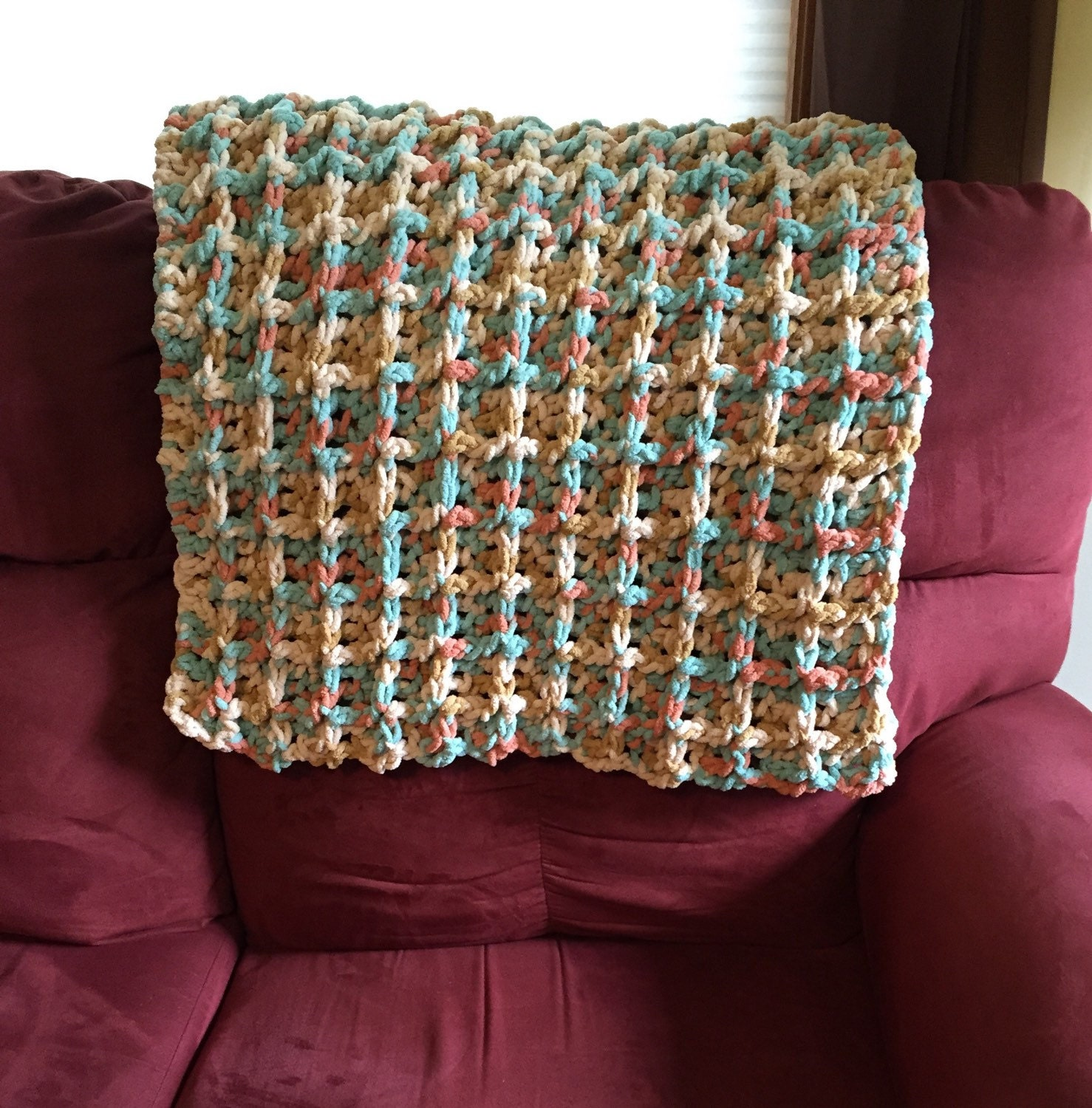 wheelchair blanket pride lift chair parts hand control crochet lapghan warm lap afghan by