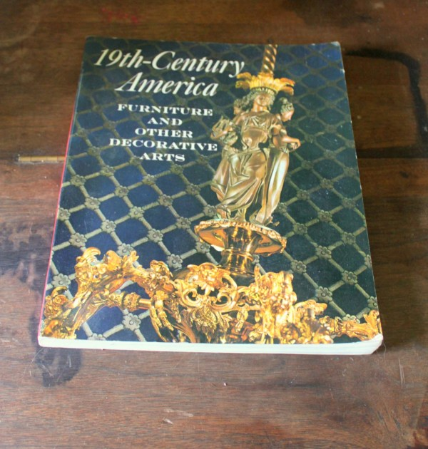 Vintage Book 19th Century America Furniture And