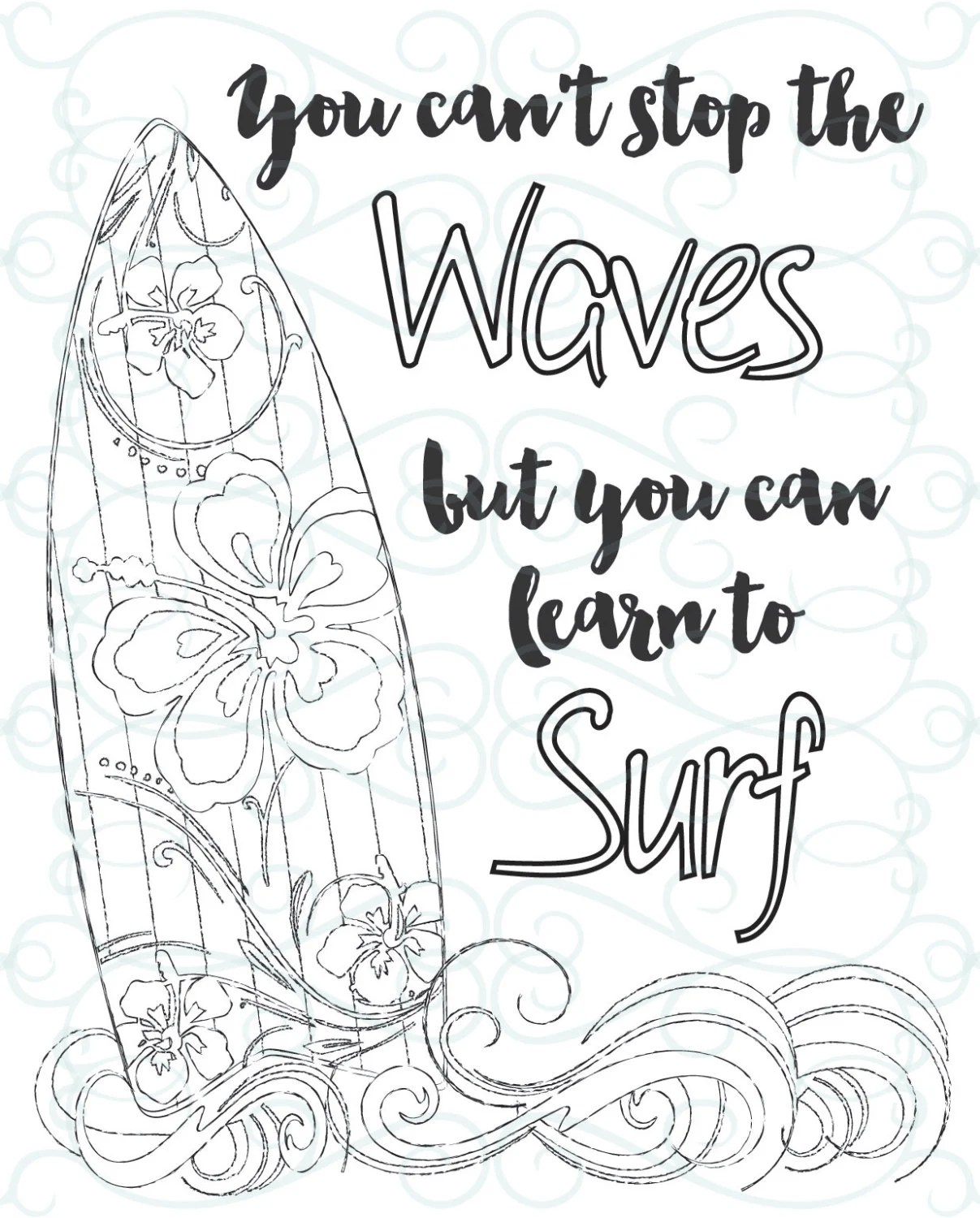 Adult Inspirational Coloring Page printable 03-Learn to