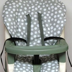Graco High Chair Seat Cover Desk With Arms Ship Ready Replacement By Sewingsilly