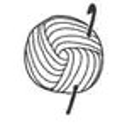 US Terms Mini Crochet Gift Bag Apple Cozy PDF Pattern