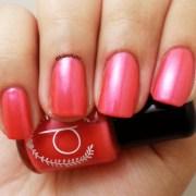 red nail polish bright raspberry