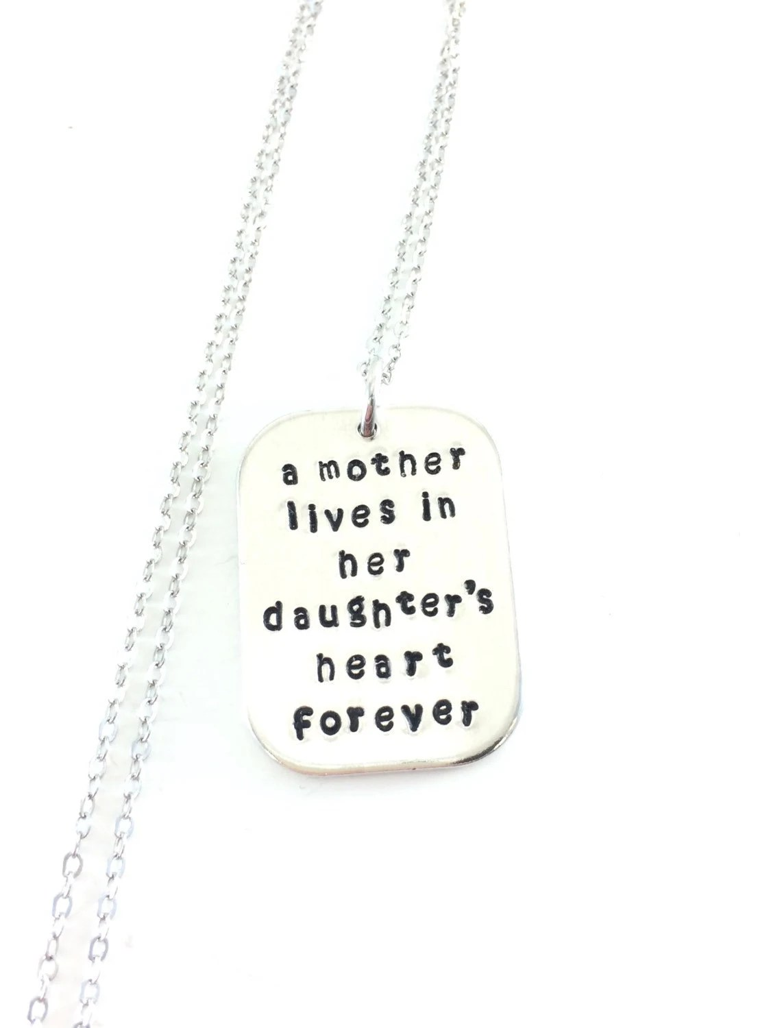 Items similar to Memorial Necklace. Memorial Necklace For