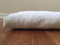Items similar to Dog bed pillow insert, Dog Bed ...