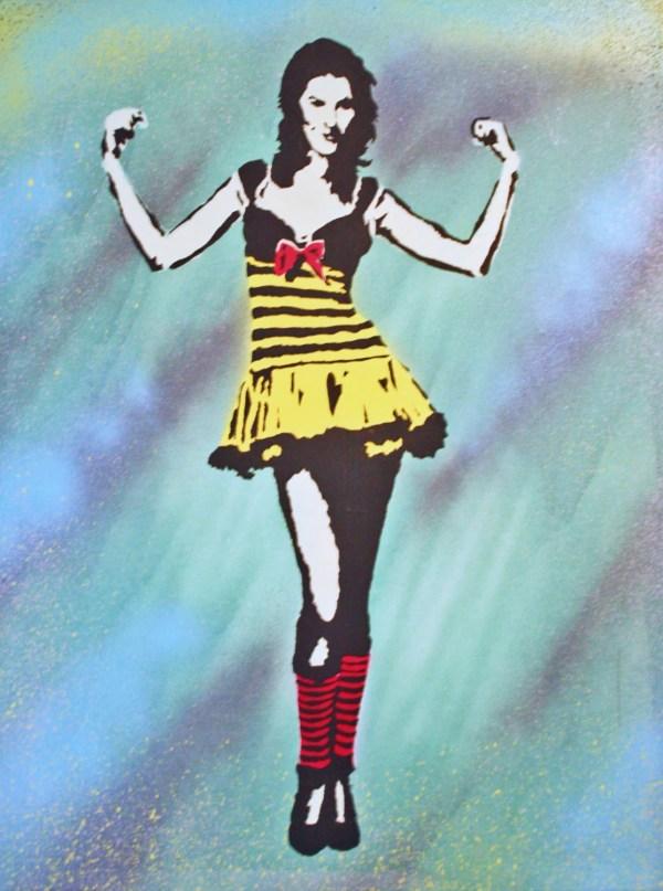 Strong Woman Pop Art