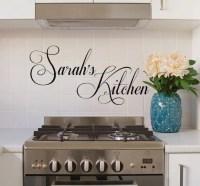 Kitchen Wall Decals Decals kitchen quotes kitchen by ...