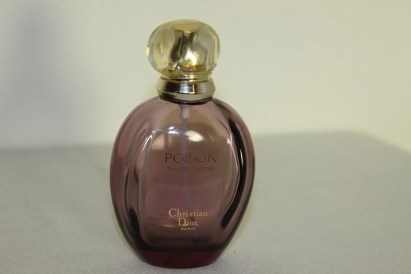 Dior Perfume Purple Bottle