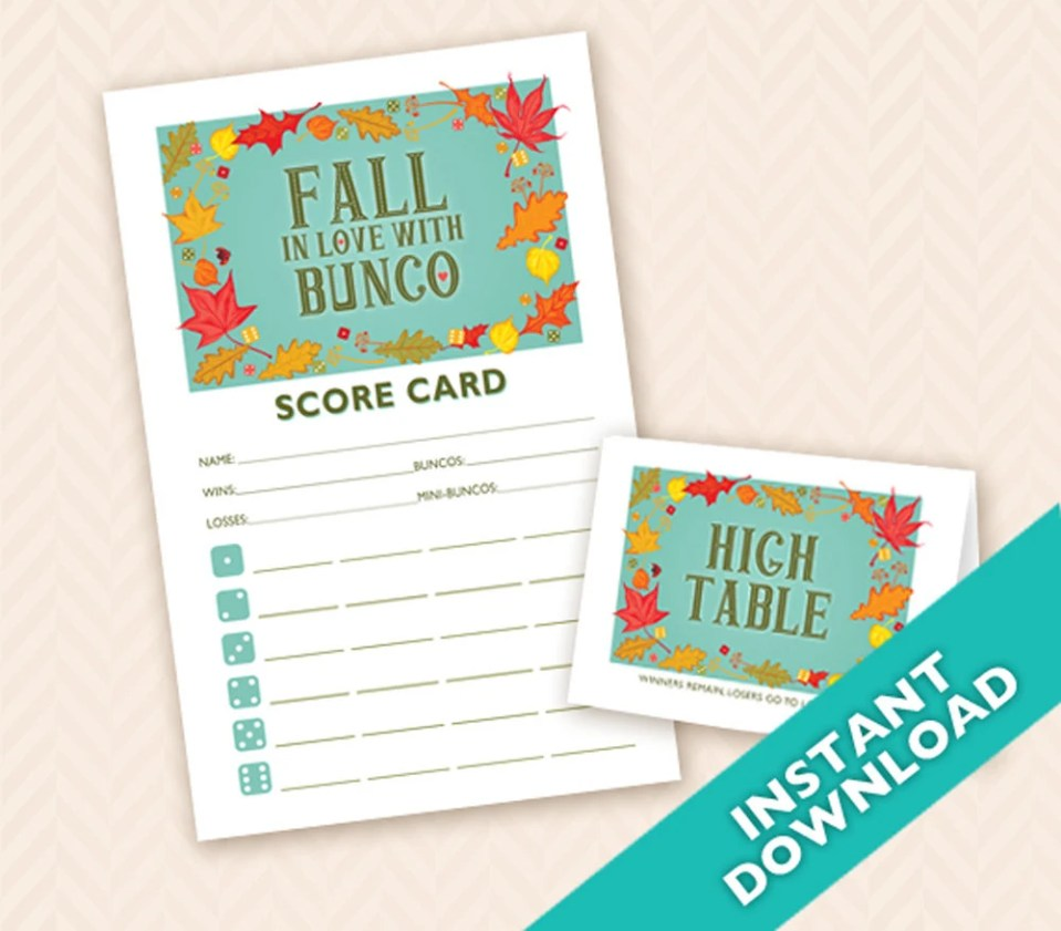 Fall in Love with Bunco -...