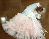 Dog wedding dress | Etsy