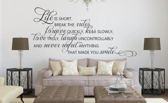 Inspirational Wall Decor Inspirational Quote Wall Decor