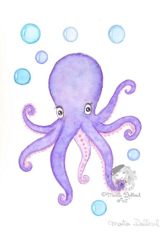Octopus Malvorlage