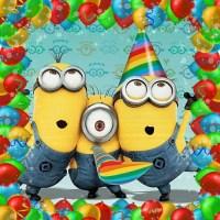 Diener alles Gute zum Geburtstag Karte Minion Film