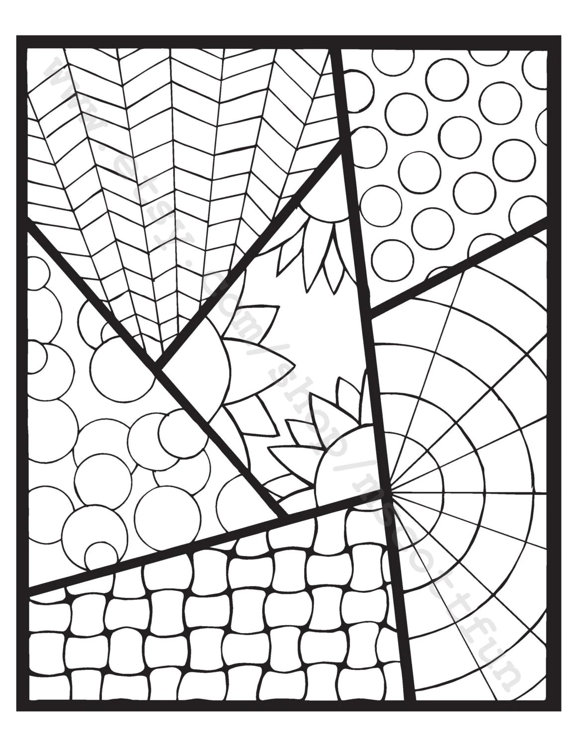 Coloring Page Strips 2