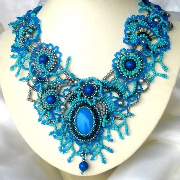 Handmade beaded jewelry for Women statement jewelry by ibics