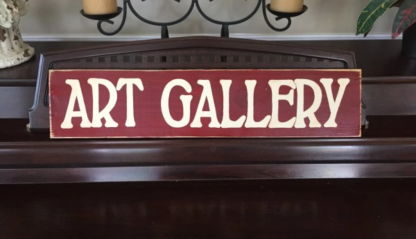 Art Gallery Display Signs