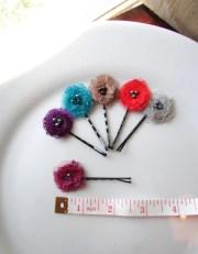 pick 6 decorative bobby pins small