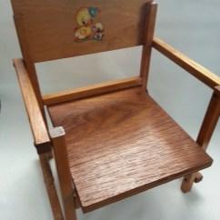 Wooden Potty Chair Ikea Stool Uae Vintage Children 39s Wood Sitting Folding