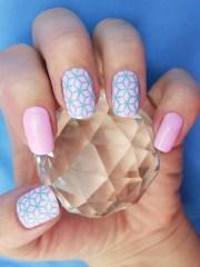 cube nail art stencils incredible
