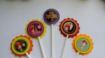 Set Of 12 Hotel Transylvania 2 Cupcake Toppers