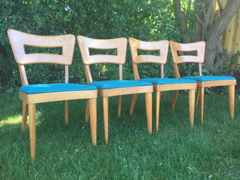 heywood wakefield dogbone chairs peg perego siesta high chair vintage mid century modern