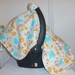 Baby Chair Carrier The Mermaid Car Seat Cover Canopy Infant