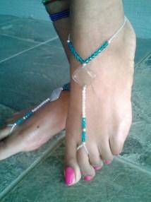 Barefoot Sandals Bridal Summer Wedding Earth