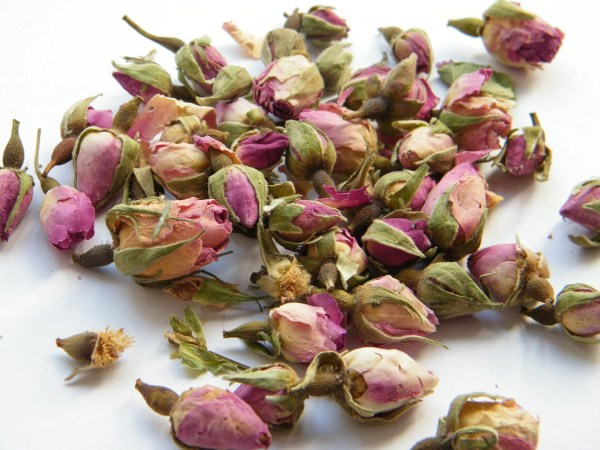 Dried Pale Pink Rose Buds Soap Bath Bombs Craft Supplies