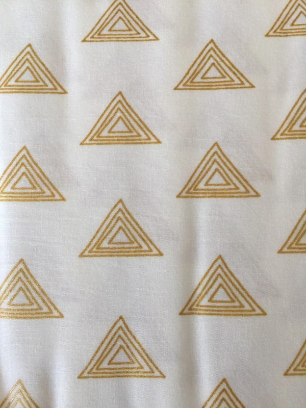 Pearl And Gold Metallic Prism Collection Art
