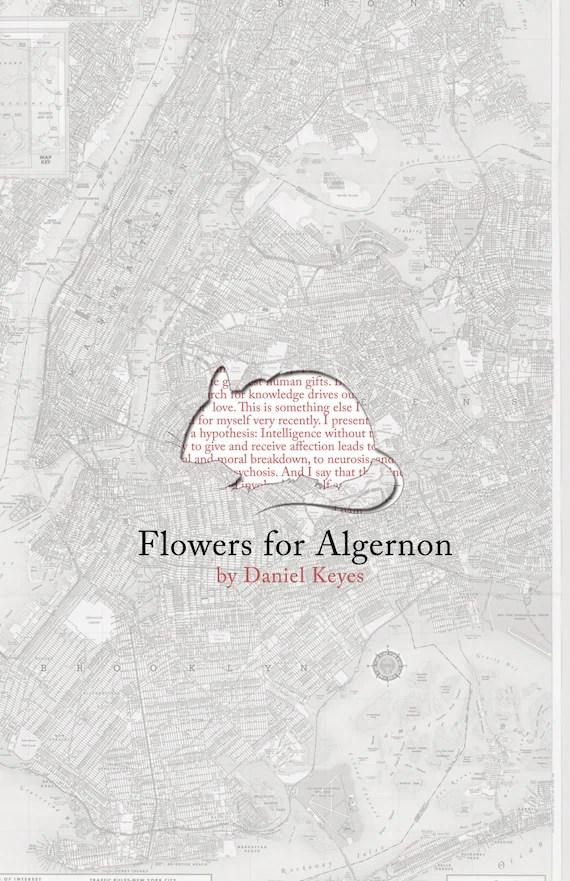 Items similar to Flowers for Algernon Poster Print on Etsy