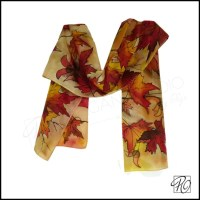 Thanksgiving Leaves Scarves for Women Page Three ...