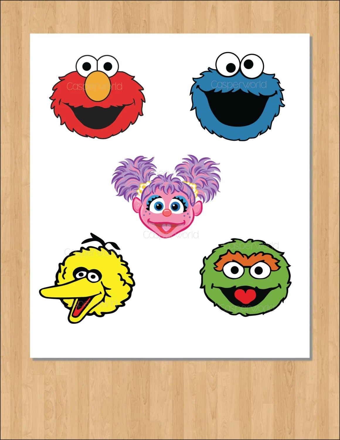 Sesame Street Birthday Party Characters