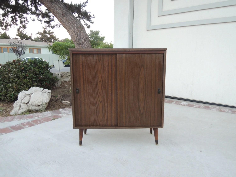 Mid Century Modern Bar Or Storage Cabinet Los Angeles