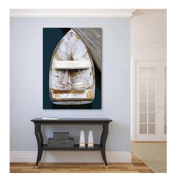 Boat Canvas Print Nautical Wall Decor Large Art