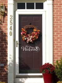 Items similar to Welcome Door Decoration, Front Door Decor ...