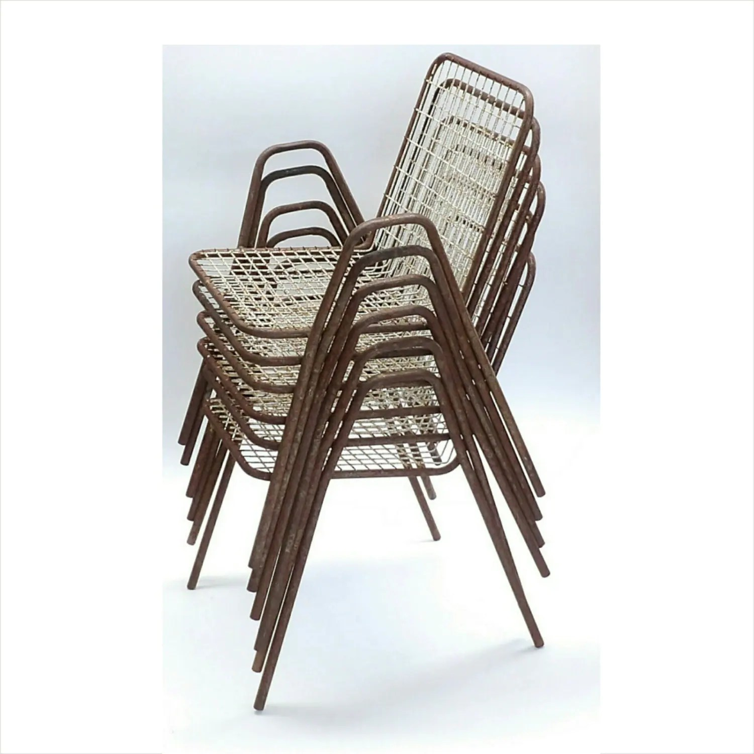 Emu Chairs Vintage Emu Italian Outdoor Furniture Metal Made In Italy