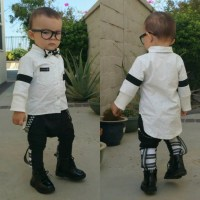 Hip trendy baby clothing, Unique style boy fashion, Baby ...