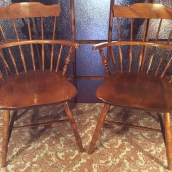 Nichols And Stone Dining Chairs Best Barber Vintage Co Windsor Maple By