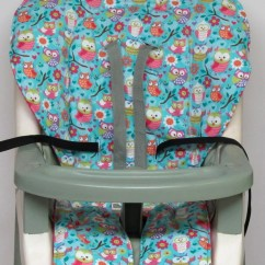Cosco High Chair Cover Flat Pads Evenflo Harness Replacement And