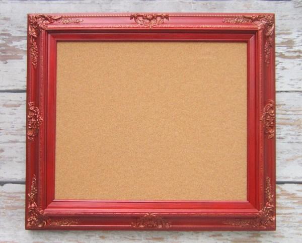 Decorative Framed Cork Boards Memo Revivedvintage