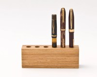Wood Pen Holder Fountain Pen Holder Desk Organizer LORD JAMES