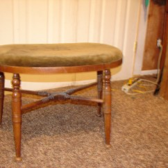 Antique Vanity Chair Wedding Covers Hire Kent Roadshow Appraised Numbered Stool