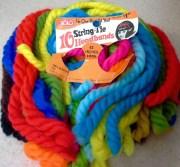 1968 solo string-tie headbands