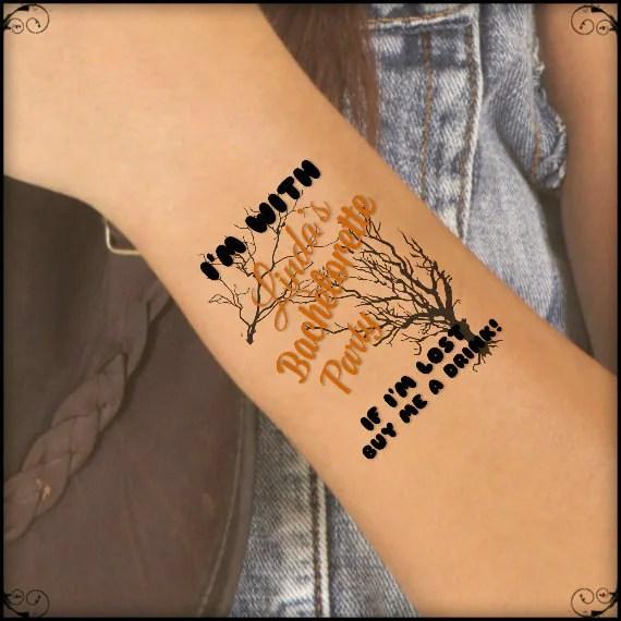 temporary tattoo 4 bachelorette