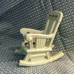 Green Rocking Chair Outdoor Swing With Stand Mccoy Lime Planter