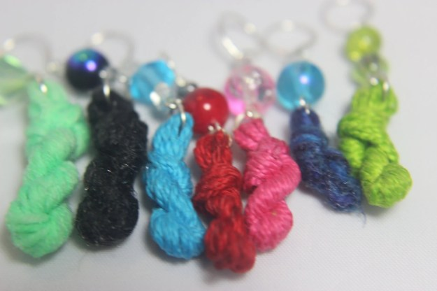 Yarn Skein Stitch Markers...