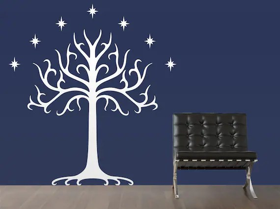 Tree of Gondor Large Scale Wall Decal