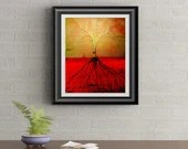 Tree of Life Signed Art Print of Signature Original By Rafi Perez